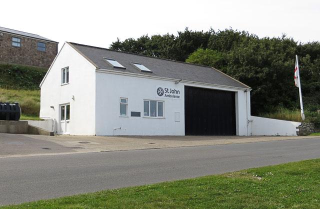 Alderney St John Ambulance Station
