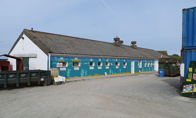Alderney Recycling Centre at Braye