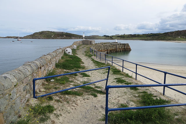 The Old Jetty at Braye