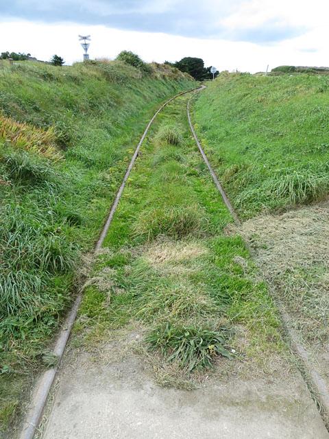 The Alderney Railway East of Whitegates