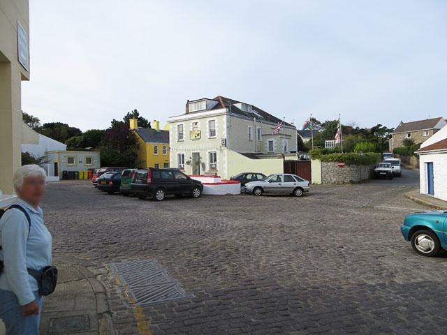Marais Square, St Annes, looking South