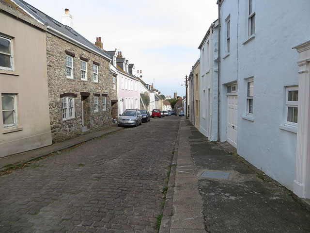 Little Street, St Annes, from the north