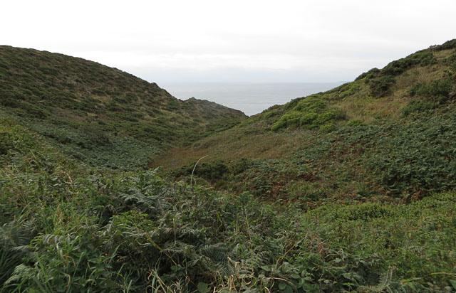Val l'Emauve, Alderney southern coastal path