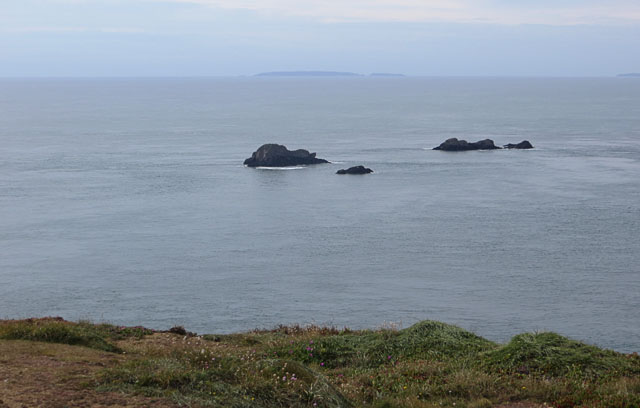 Islets off the south-west coast of Alderney