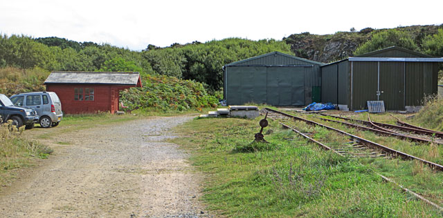 The Eastern End of Alderney's Railway Line