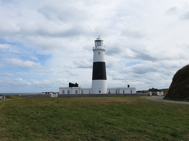 Alderney Lighthouse from the West