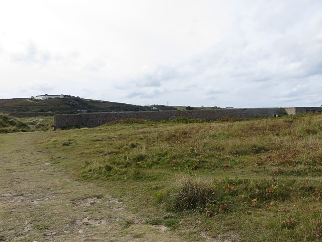 Butts at the Eastern end of Longis Bay