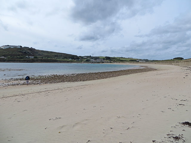 Longis Bay Beach from the East