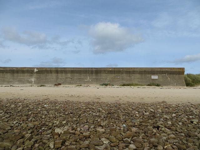 Longis Bay Anti-Tank Wall