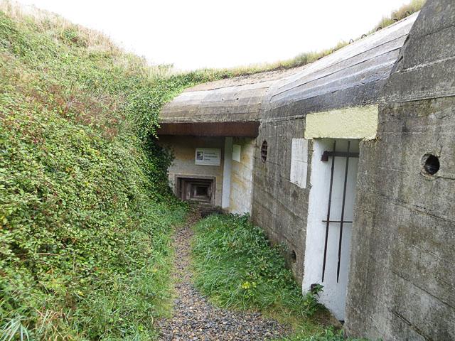 Entrance to the Alderney Wildlife Bunker