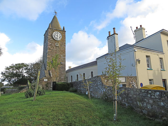The Museum Clock, St Annes, Alderney