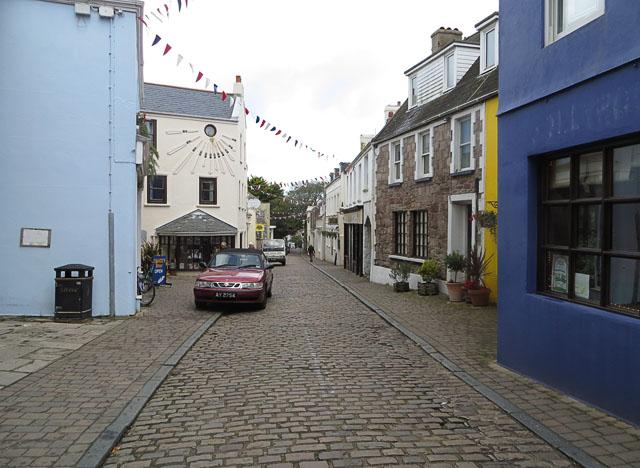 Victoria Street, St Anne's, Alderney