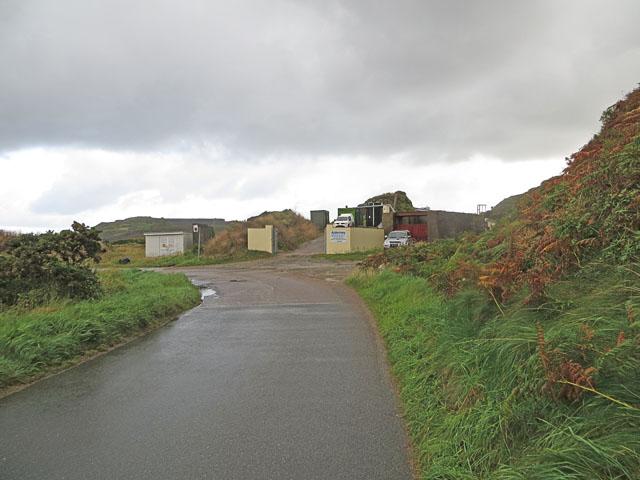 The Entrance to the Alderney Reservoir