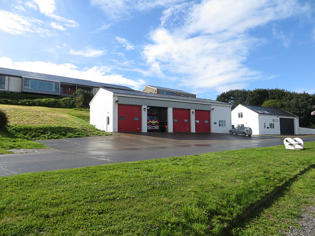 Alderney Fire and Ambulance Stations