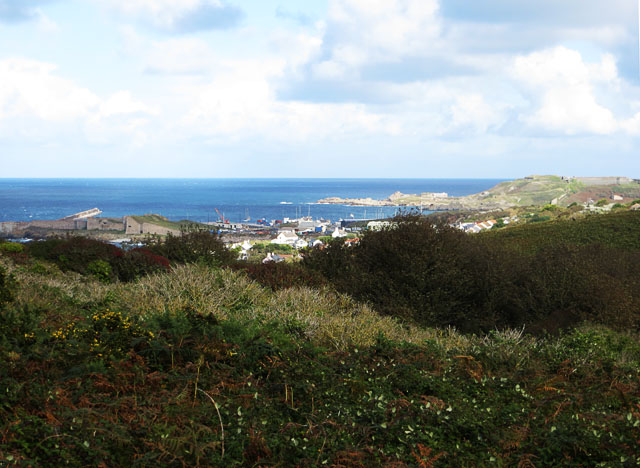 Braye from south of Fort Tourgis