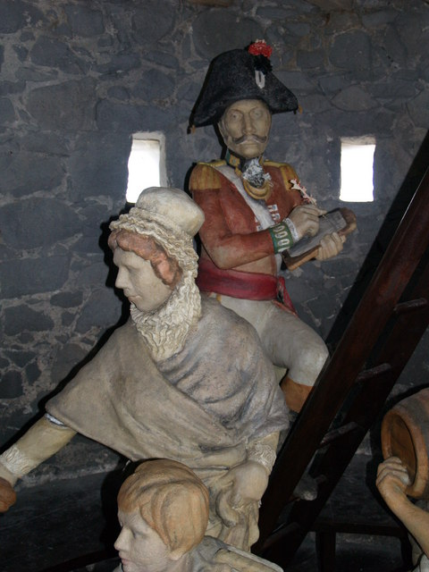 Exhibits at Rousse Martello Tower
