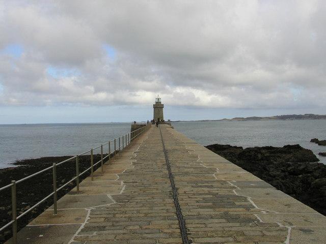 Castle Cornet Breakwater