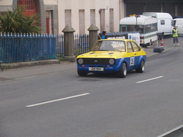 Rally Car on the South Esplanade