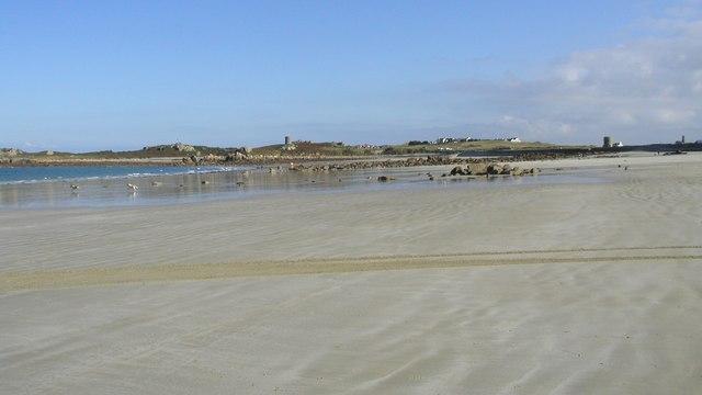 Pembroke and L'Ancresse Bays