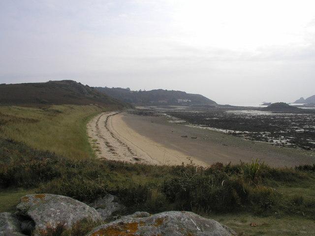 The Bears Beach, Herm