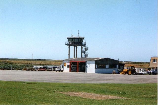 Alderney airport 1998
