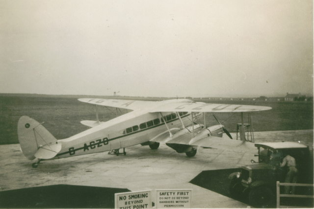 Guernsey and Jersey Airways, Jersey Airport 1939