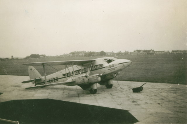 Guernsey and Jersey Airways at Jersey Airport 1939