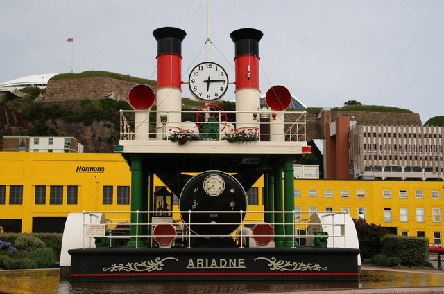 'Steam clock' - St Helier