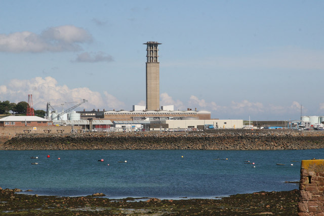 La Collette Power Station St Helier
