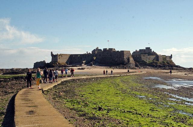 Elizabeth Castle and causeway