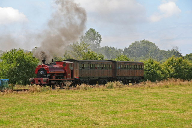 Steam railway - Pallot Steam, Motor & General Museum