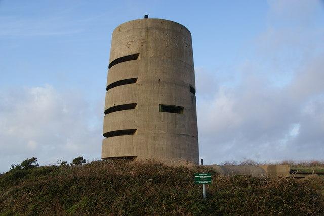 Pleinmont naval observation tower