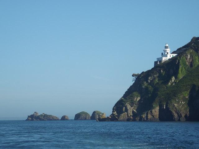 Sark Lighthouse and Point Robert