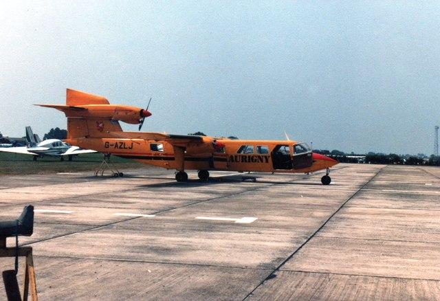 Britten-Norman Trislander of Aurigny airline