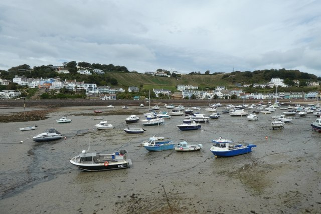 Boats in Gorey harbour