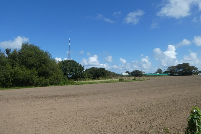 Fields next to La Rue de l'�glise