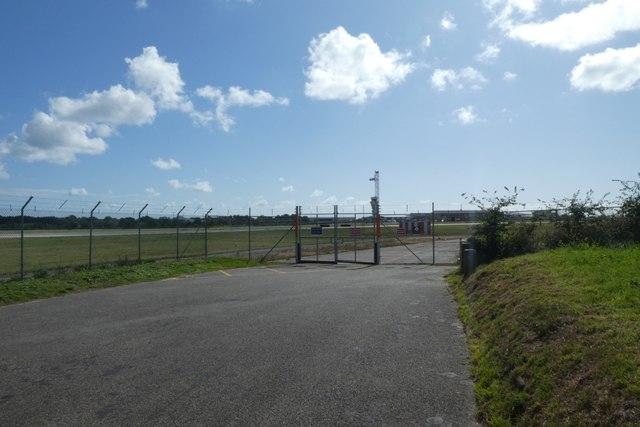 Airport boundary