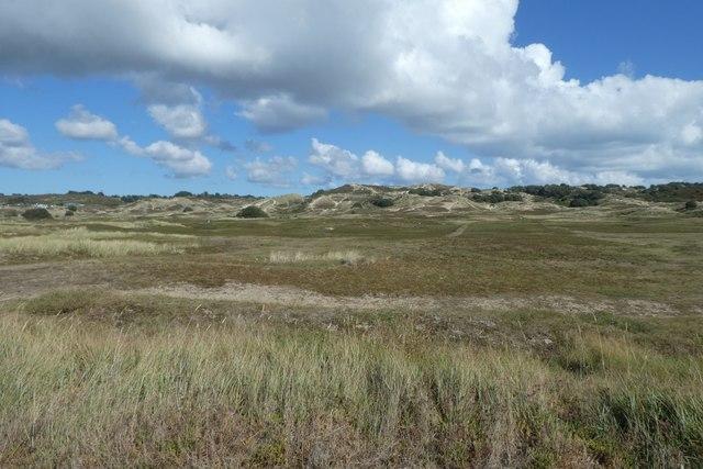Dunes at Le Braye
