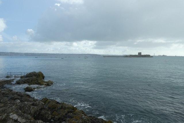 Coast near St. Aubin