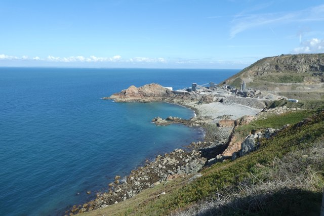 Ronez Point and quarry