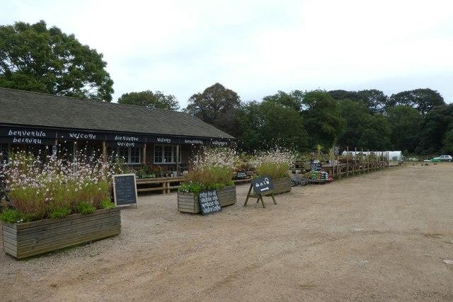 Botanic Garden shop at Samarès Manor