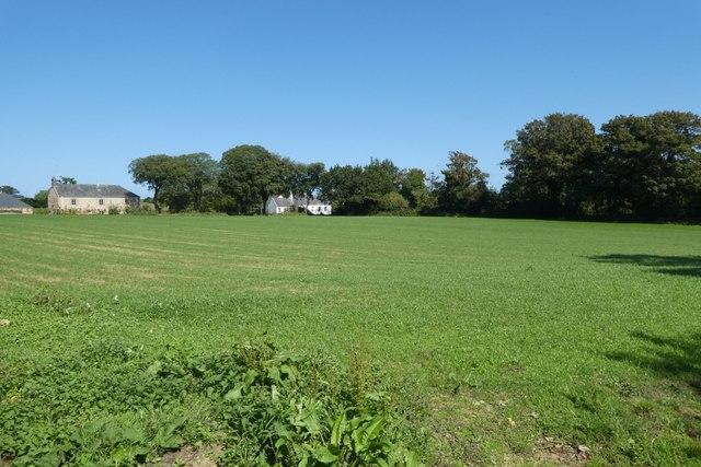 Farmland beside Rue du Douet