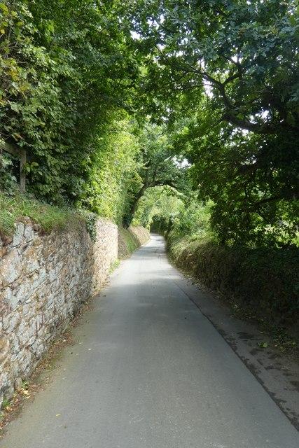 Along Le Mont de la Fredee