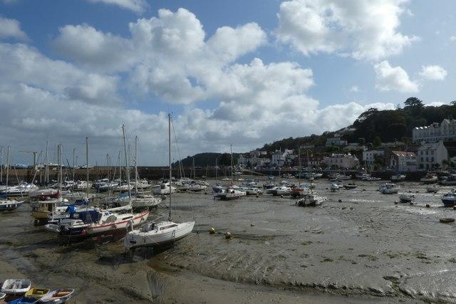Across St. Aubin harbour