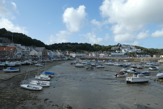 Harbour in St. Aubin