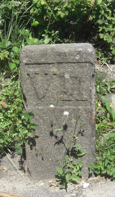 Old Milestone, Route des Adams (Ancien jalon)