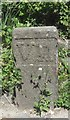 WV2578 : Old Milestone, Route des Adams (Ancien jalon) by Tim Jenkinson