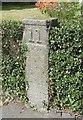 WV3179 : Old Milestone, Rue du Presbytere (Ancien jalon) by Tim Jenkinson