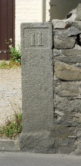 Old Milestone, St Clair Hill (Ancien jalon)