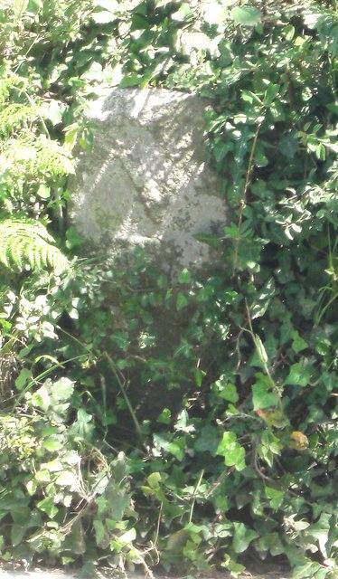 Old Milestone, Route de Plaisance (Ancien jalon)